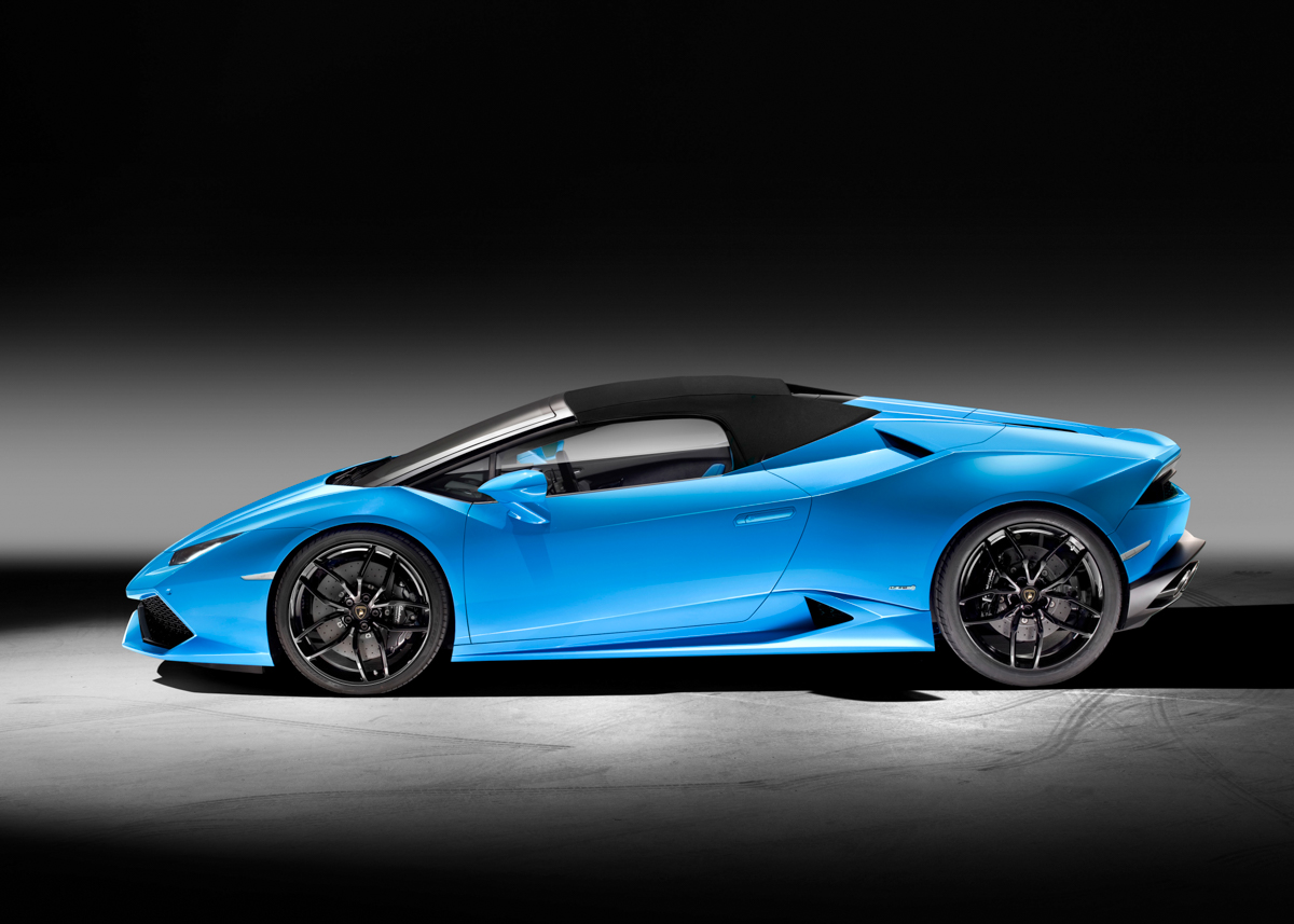 London In The Lamborghini Huracán Spyder 4