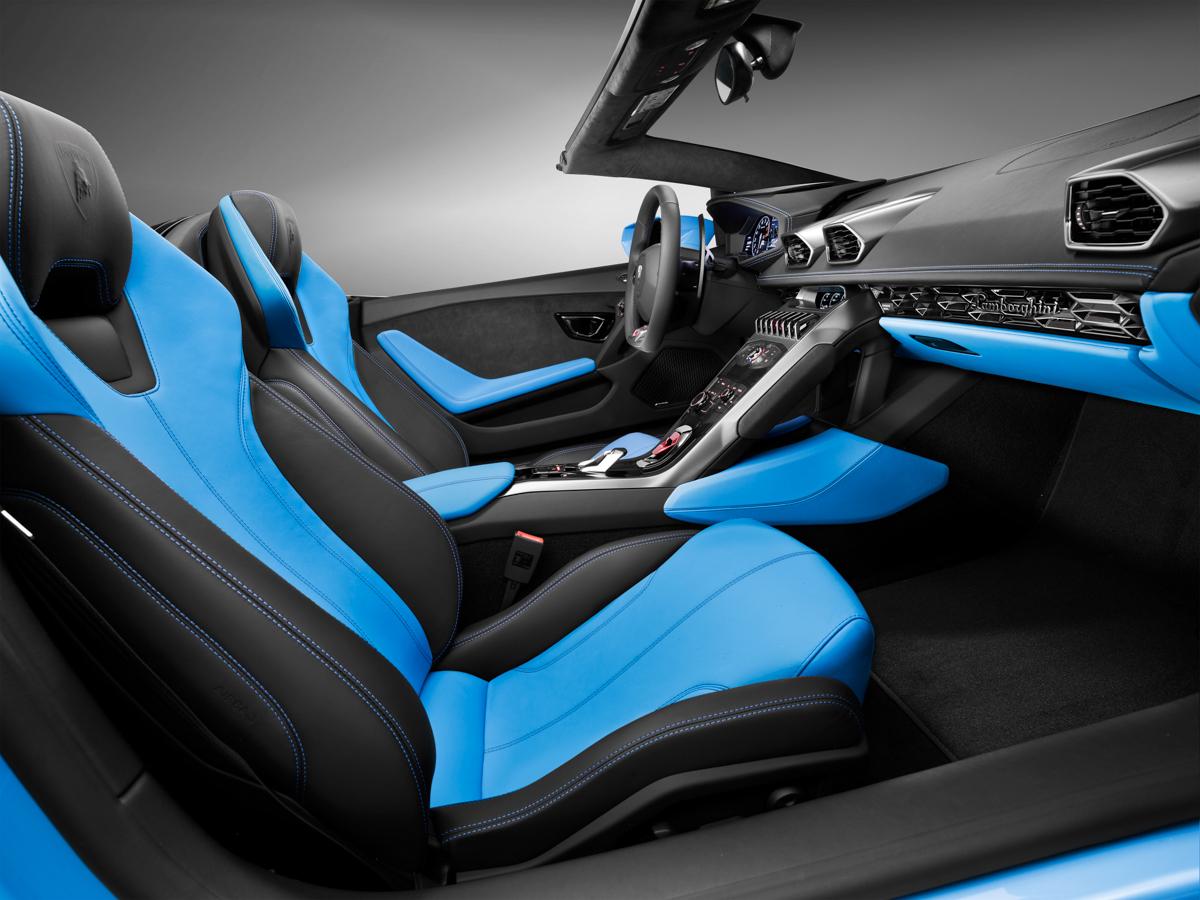 London In The Lamborghini Huracán Spyder 6