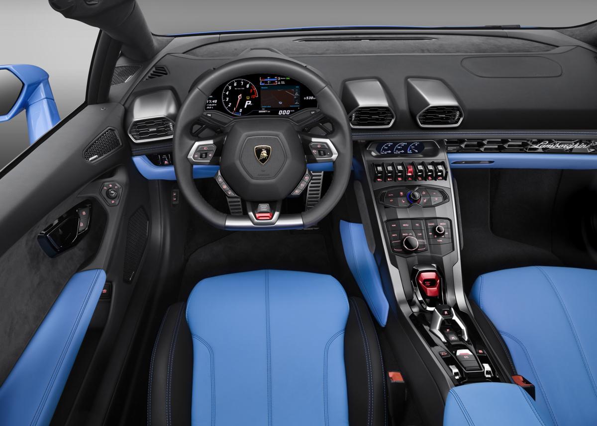 London In The Lamborghini Huracán Spyder 2