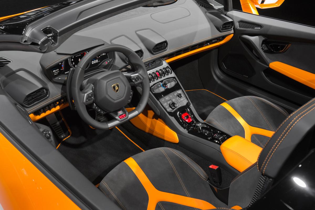 London In The Lamborghini Huracán Spyder 9