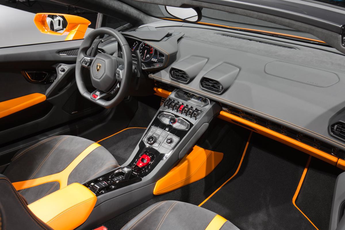 London In The Lamborghini Huracán Spyder 8