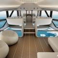 Modernes Zeppelin-Konzept von Hybrid Air Vehicles Limited und Design Q: Airlander 10