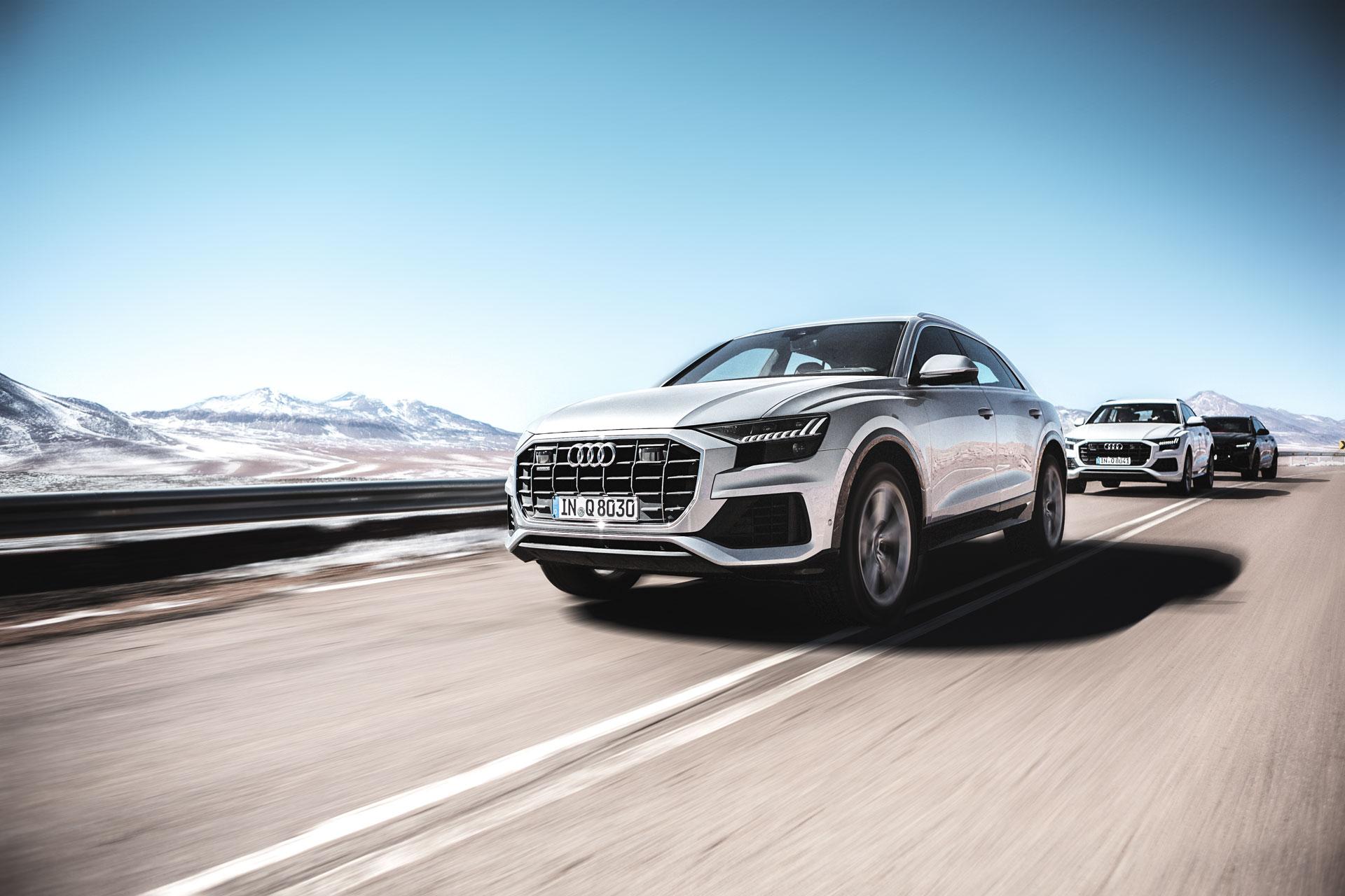 Der neue Audi Q8: Die Antwort auf X6 und GLE? 1