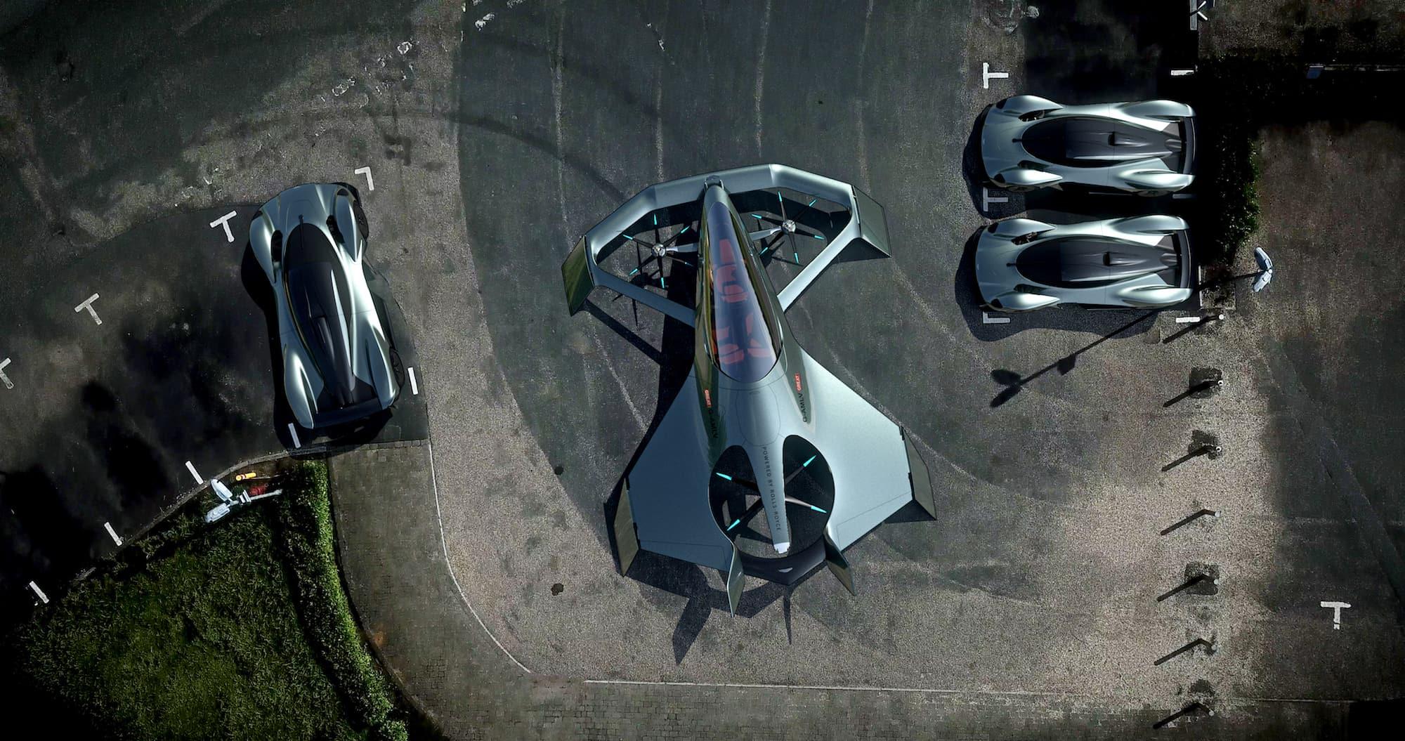 Volante Vision Concept Erobert Aston Martin Bald Auch Noch Den Himmel