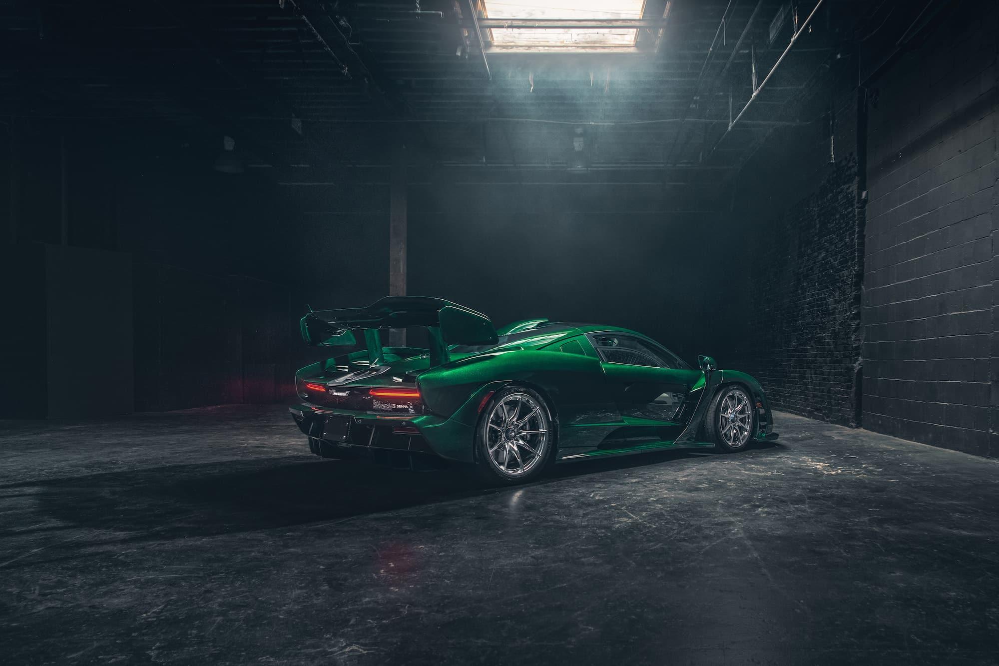 McLaren Senna Emerald Green 01