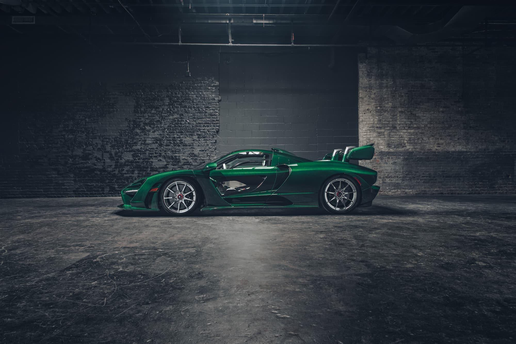 McLaren Senna Emerald Green 02
