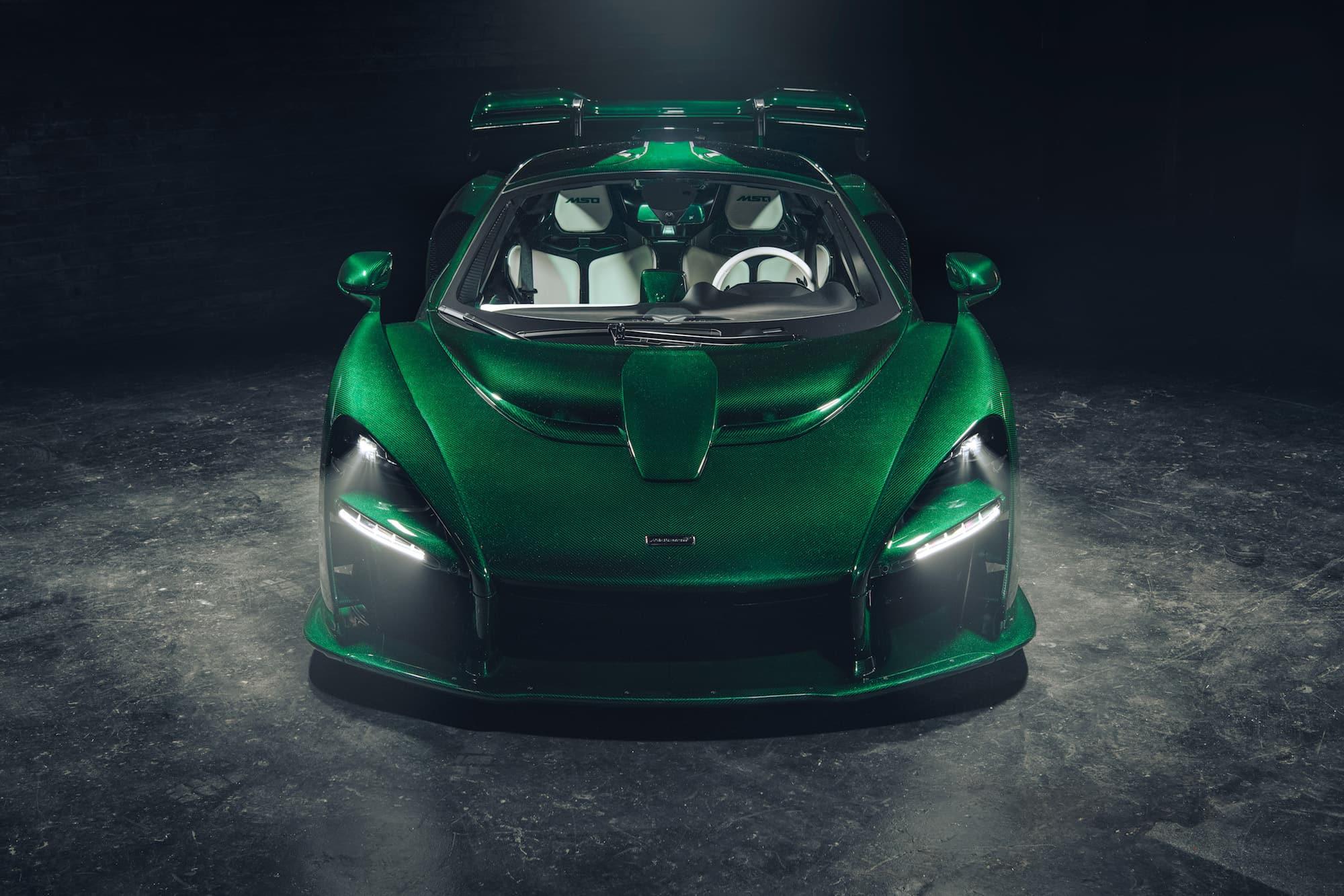 McLaren Senna Emerald Green 03