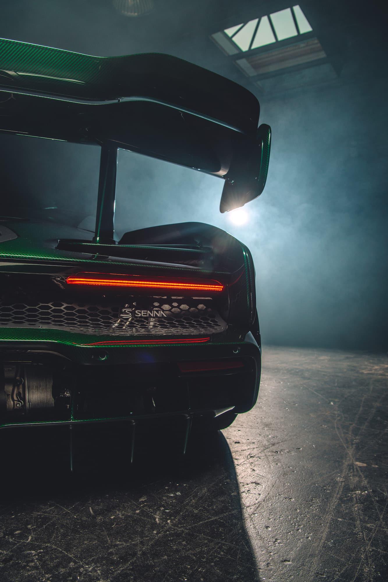 McLaren Senna Emerald Green 06