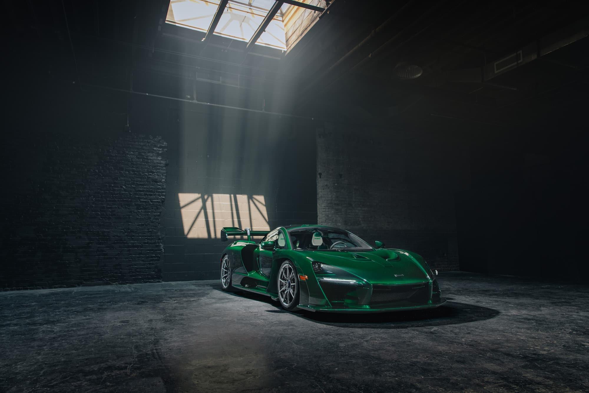 McLaren Senna Emerald Green featured