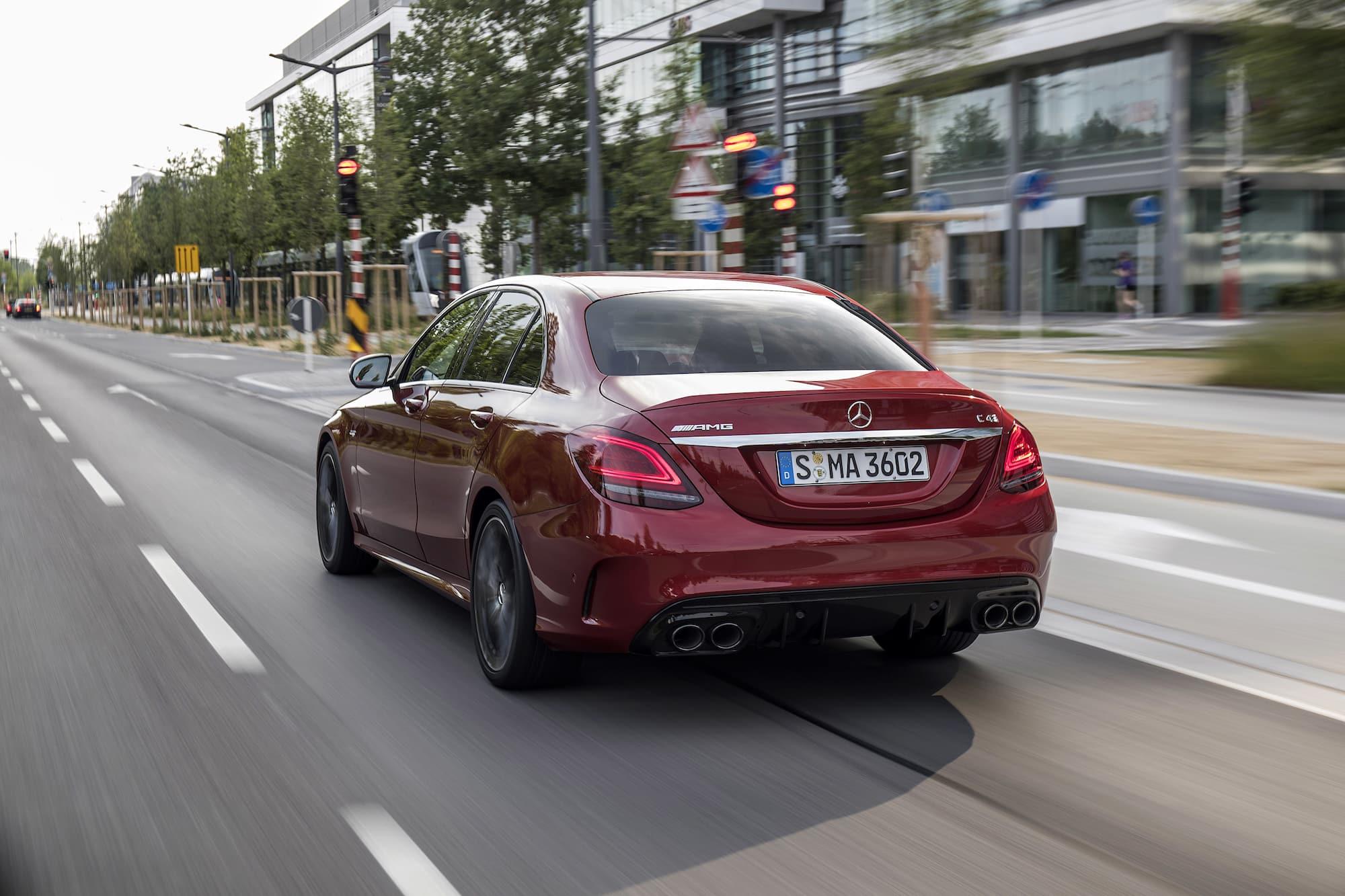 Die neuen Mercedes AMG C 43 4MATIC Modelle
