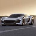Ein Supersportwagen unter Starkstrom: Die Studie Audi PB18 e-tron