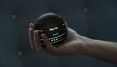 Eine runde Sache: Der futuristische Lautsprecher Atlas von Ori Kadosh