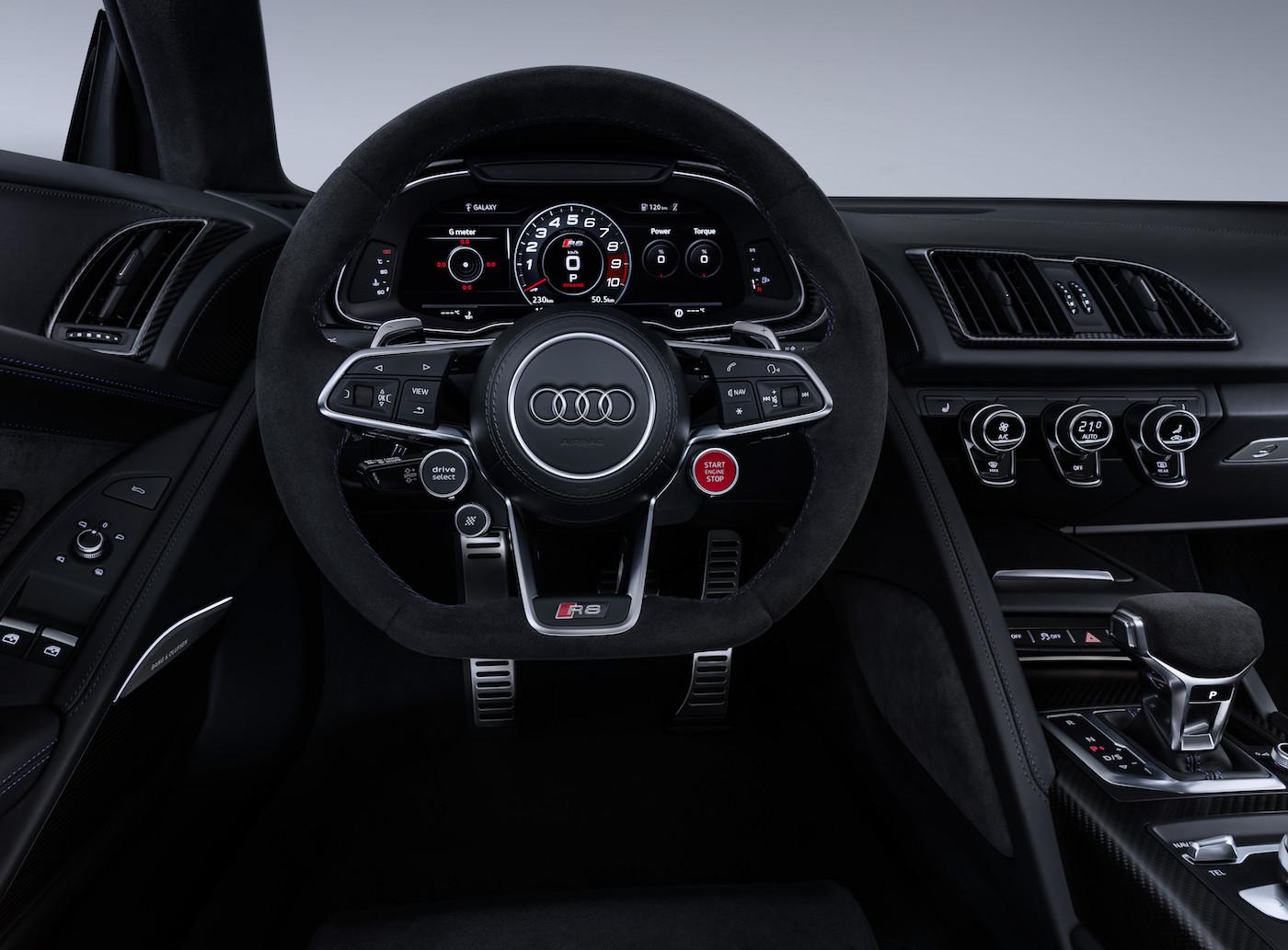 Schneller & schärfer: Das ist der neue Audi R8 8