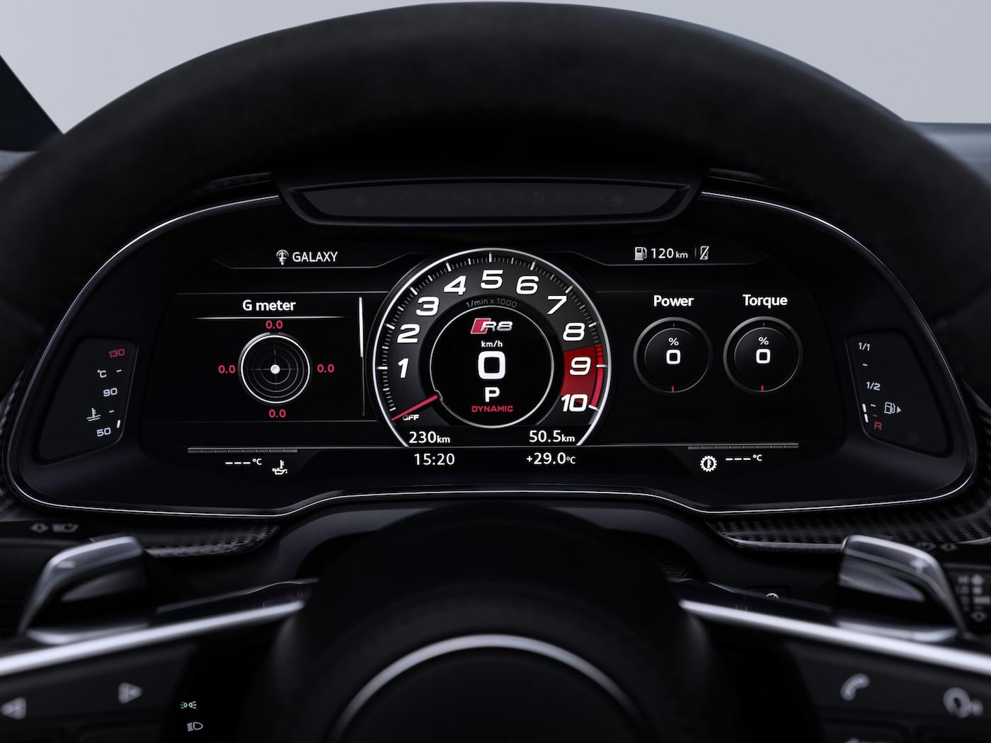 Schneller & schärfer: Das ist der neue Audi R8 6