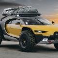 Wenn Bugatti zu überraschen weiß: Der Chiron 4x4 als Off-Roader