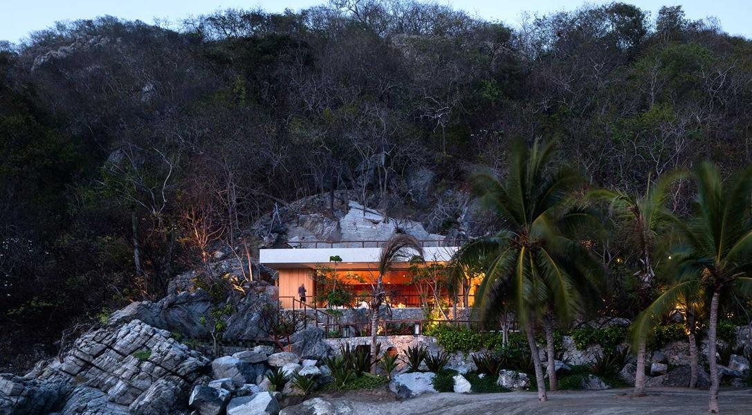 So komfortabel kann eine Strandhütte sein: Das SAJIII House von Casas De Mexico
