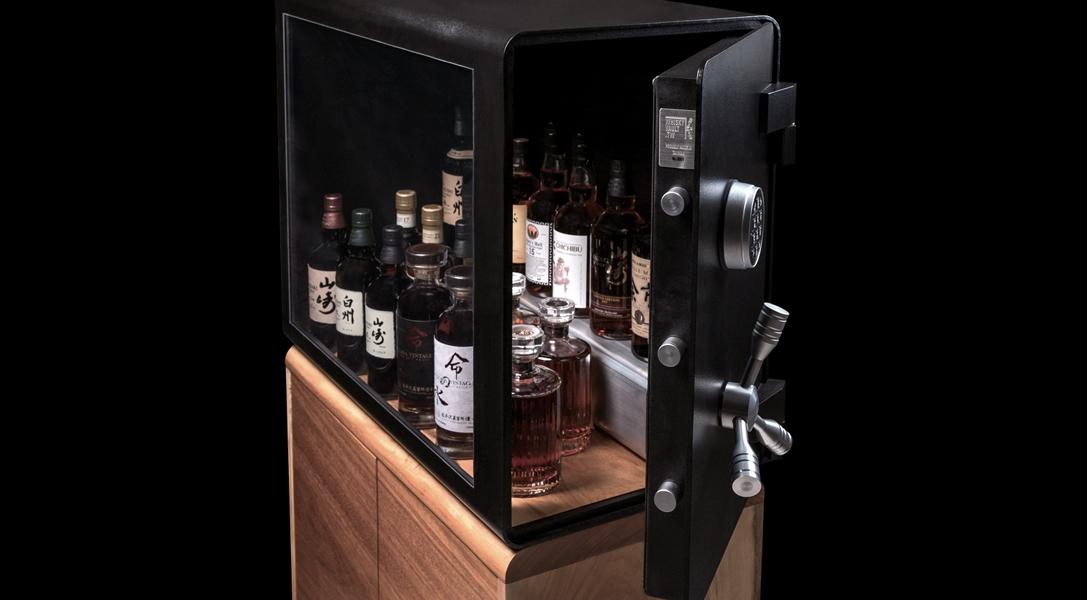 Ein edler Platz für edle Tropfen: Der Whiskey Vault