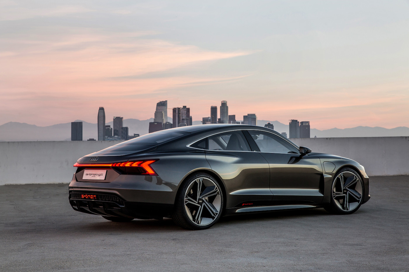 Audi introduces the e-tron GT concept: The all-electric 590 hp sedan 1