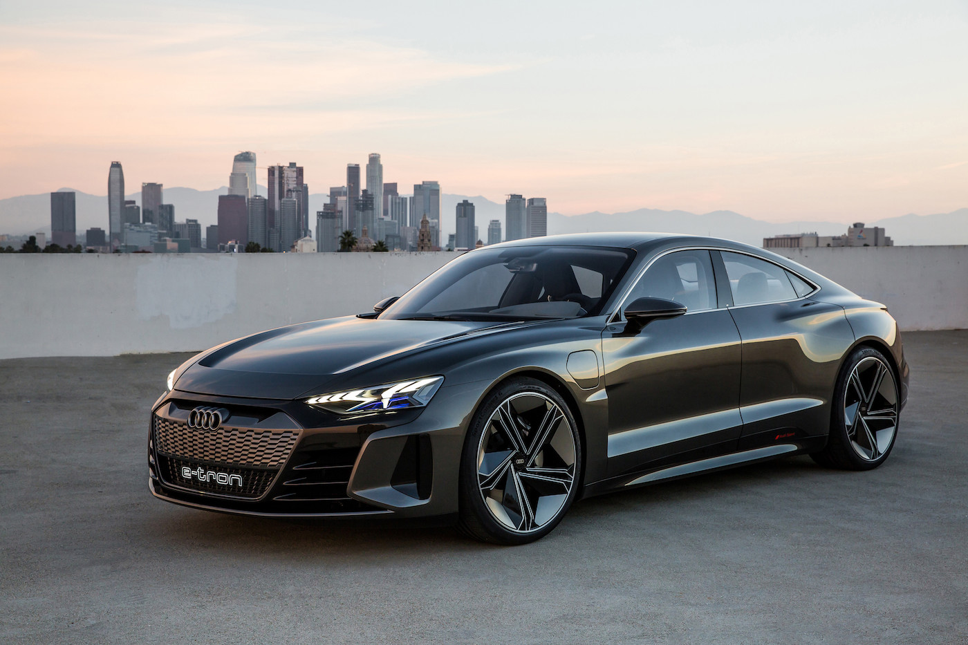 Audi introduces the e-tron GT concept: The all-electric 590 hp sedan 2