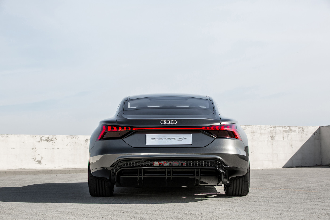 Audi introduces the e-tron GT concept: The all-electric 590 hp sedan 4