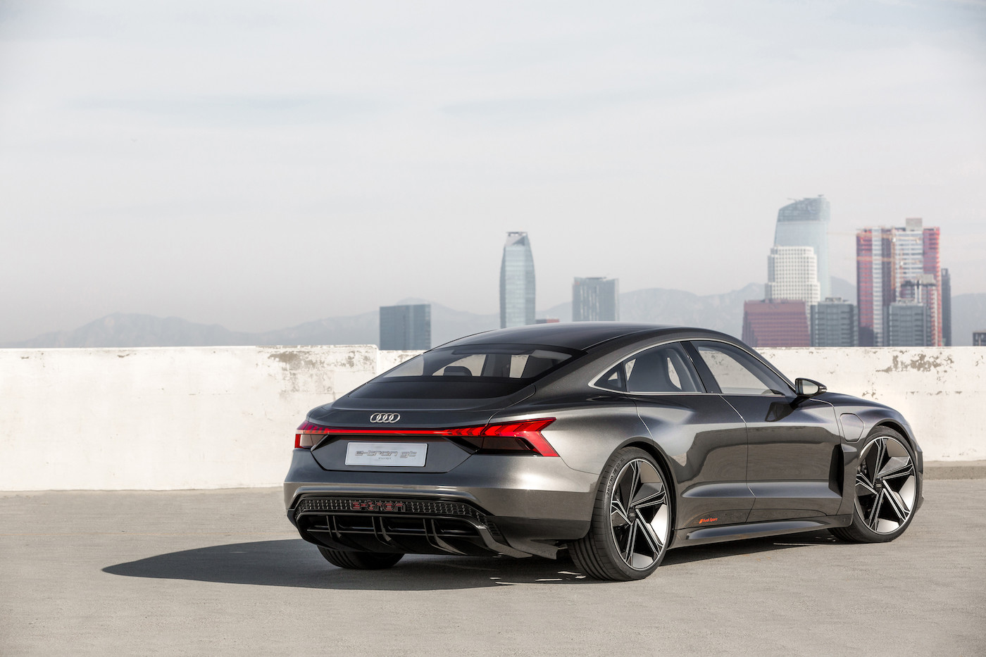 Audi introduces the e-tron GT concept: The all-electric 590 hp sedan 5