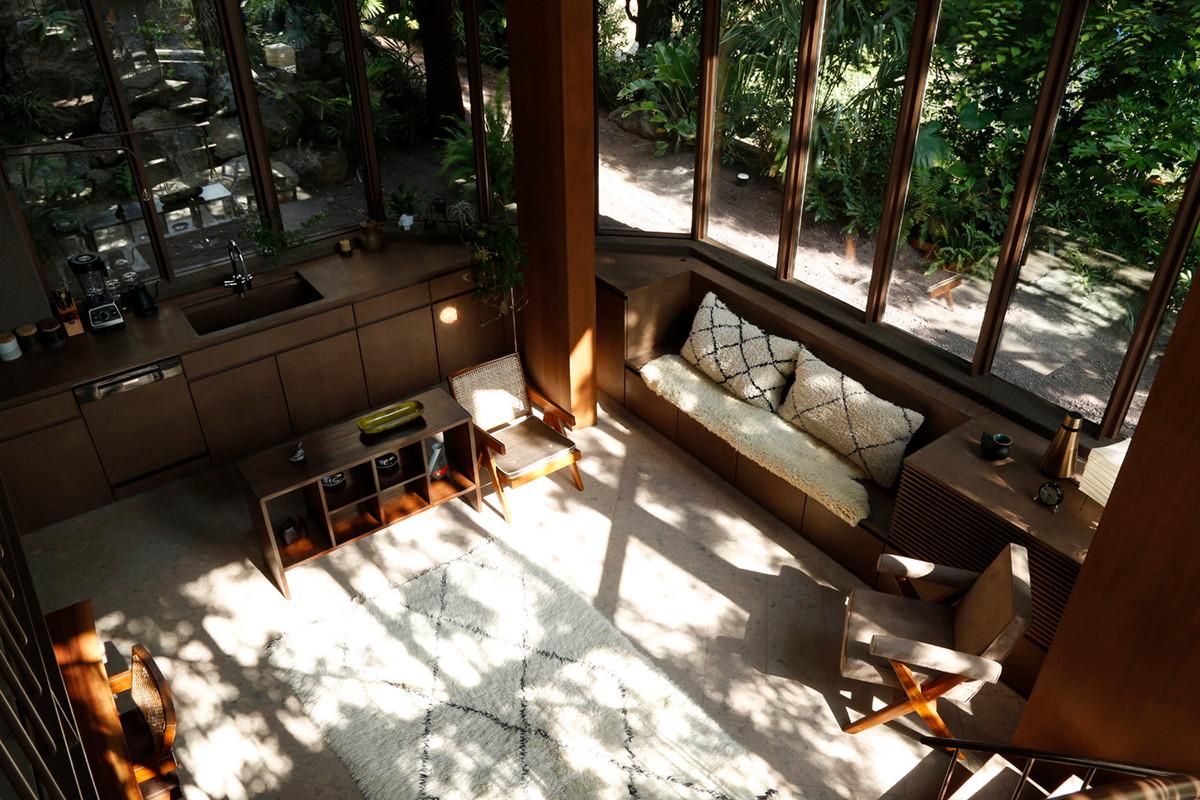 Ein Baumhaus im Dschungel von Tokio 2