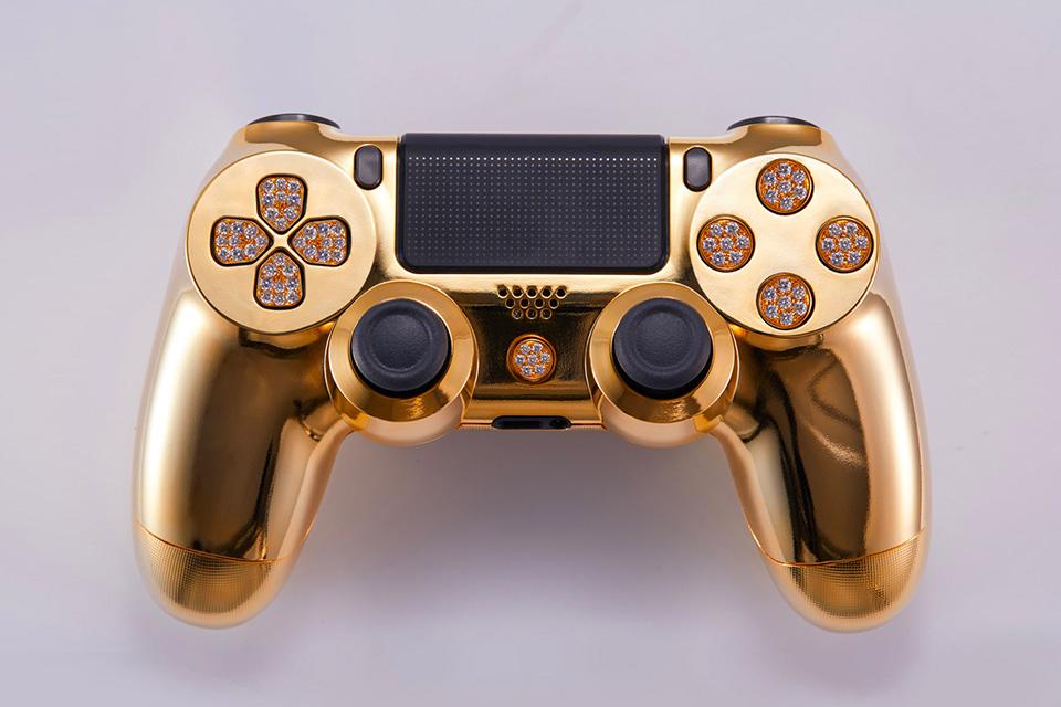 PlayStation 4: Dieser goldene Luxus-Controller kostet 14.000 Dollar 2