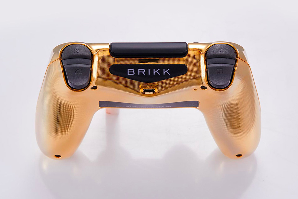PlayStation 4: Dieser goldene Luxus-Controller kostet 14.000 Dollar 5