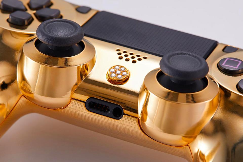 PlayStation 4: Dieser goldene Luxus-Controller kostet 14.000 Dollar 3