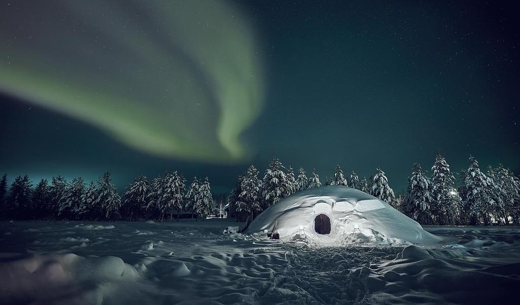 Die Lucky Ranch Snow Igloos: Verdammt cool übernachten in Finnland