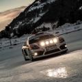 Porsche auf Schnee und Eis: Cayman GT4 Rallye und neuer 911 in den Alpen