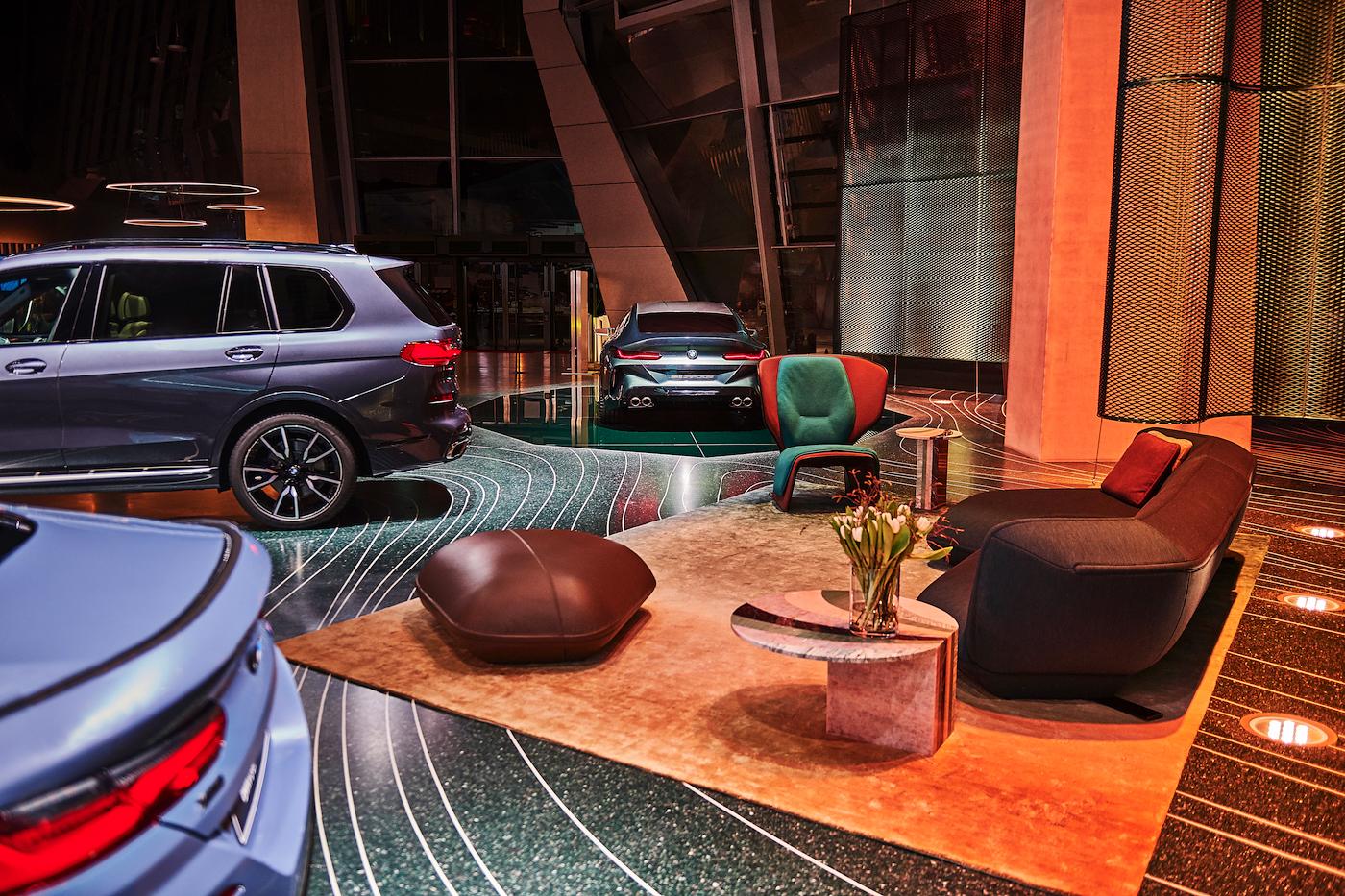 Die Design-Kollaboration zwischen BMW und Patricia Urquiola 9