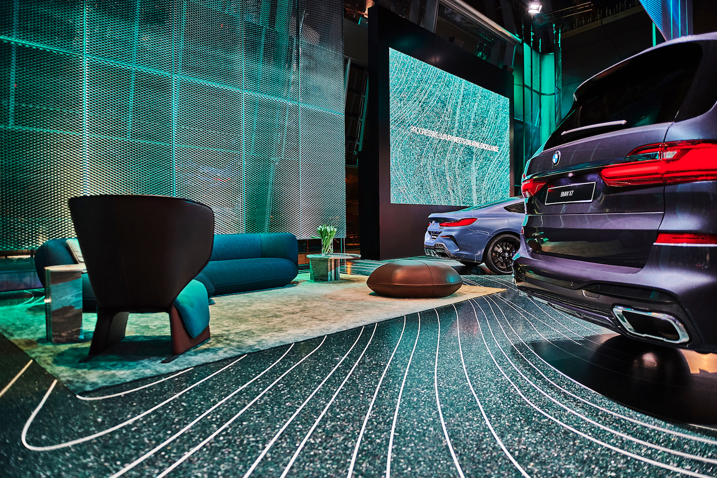 Die Design-Kollaboration zwischen BMW und Patricia Urquiola 10