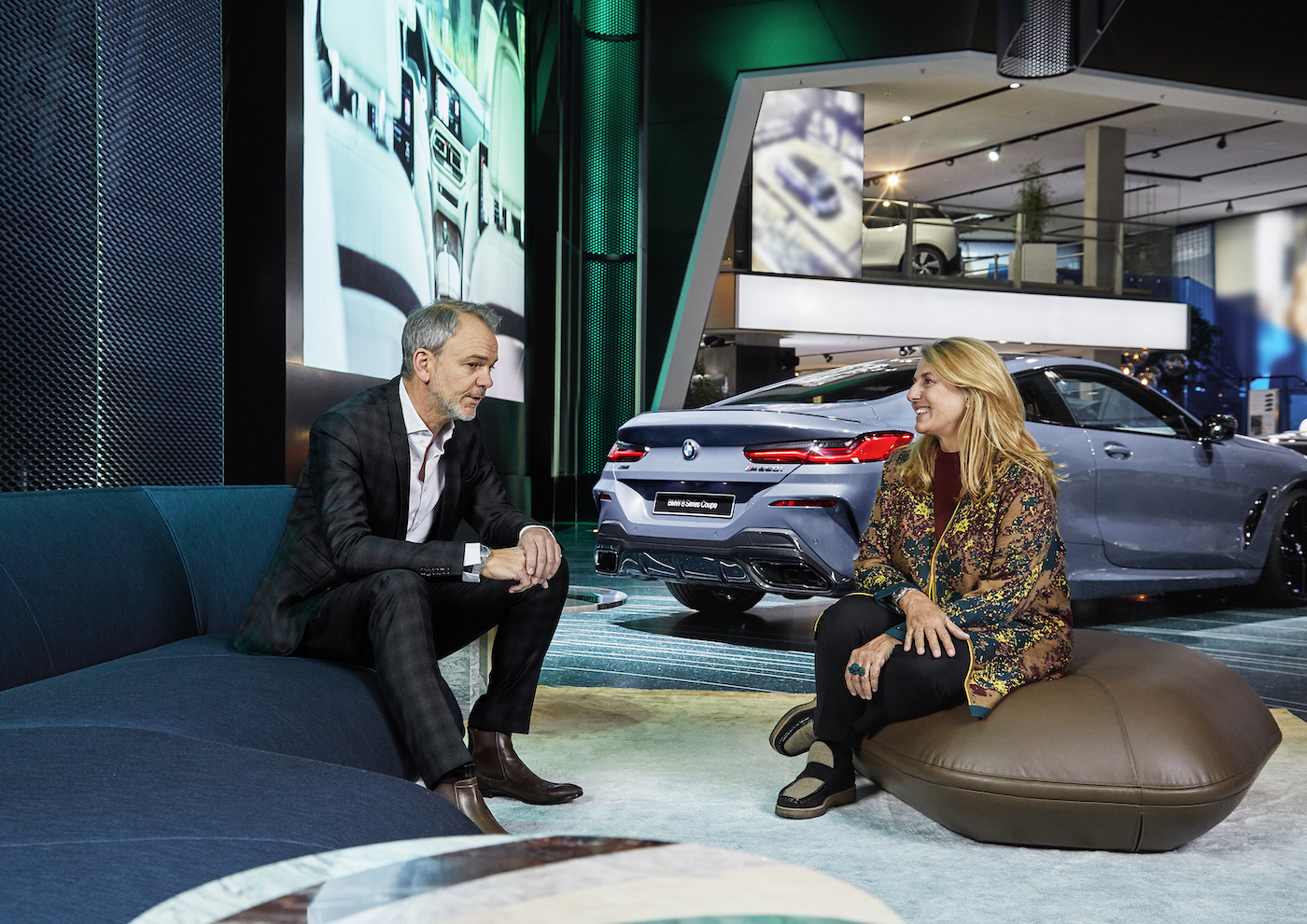 Die Design-Kollaboration zwischen BMW und Patricia Urquiola 7