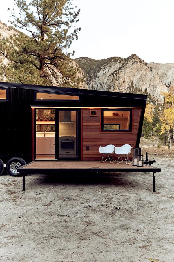 "Camping mit Stil: Die ""Land Ark Draper RV Cabin"" 8"