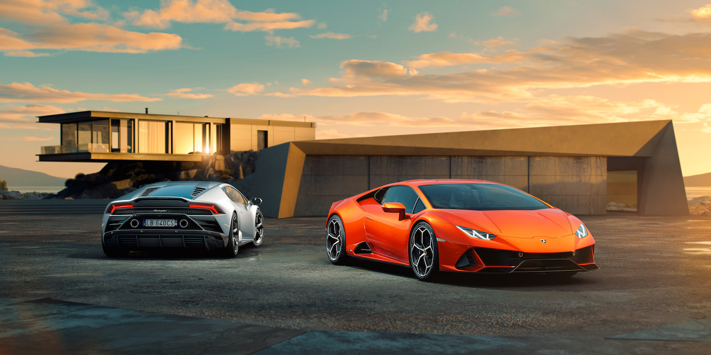 Der neue Lamborghini Huracán EVO 1