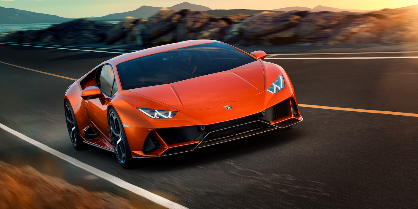 Der neue Lamborghini Huracán EVO 4