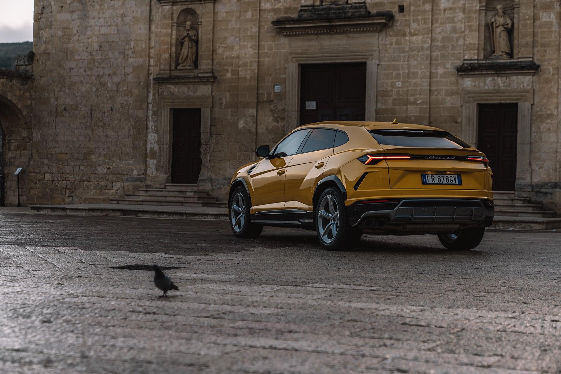 Mit dem Lamborghini Urus durch die wiederentdeckte Stadt Matera 8