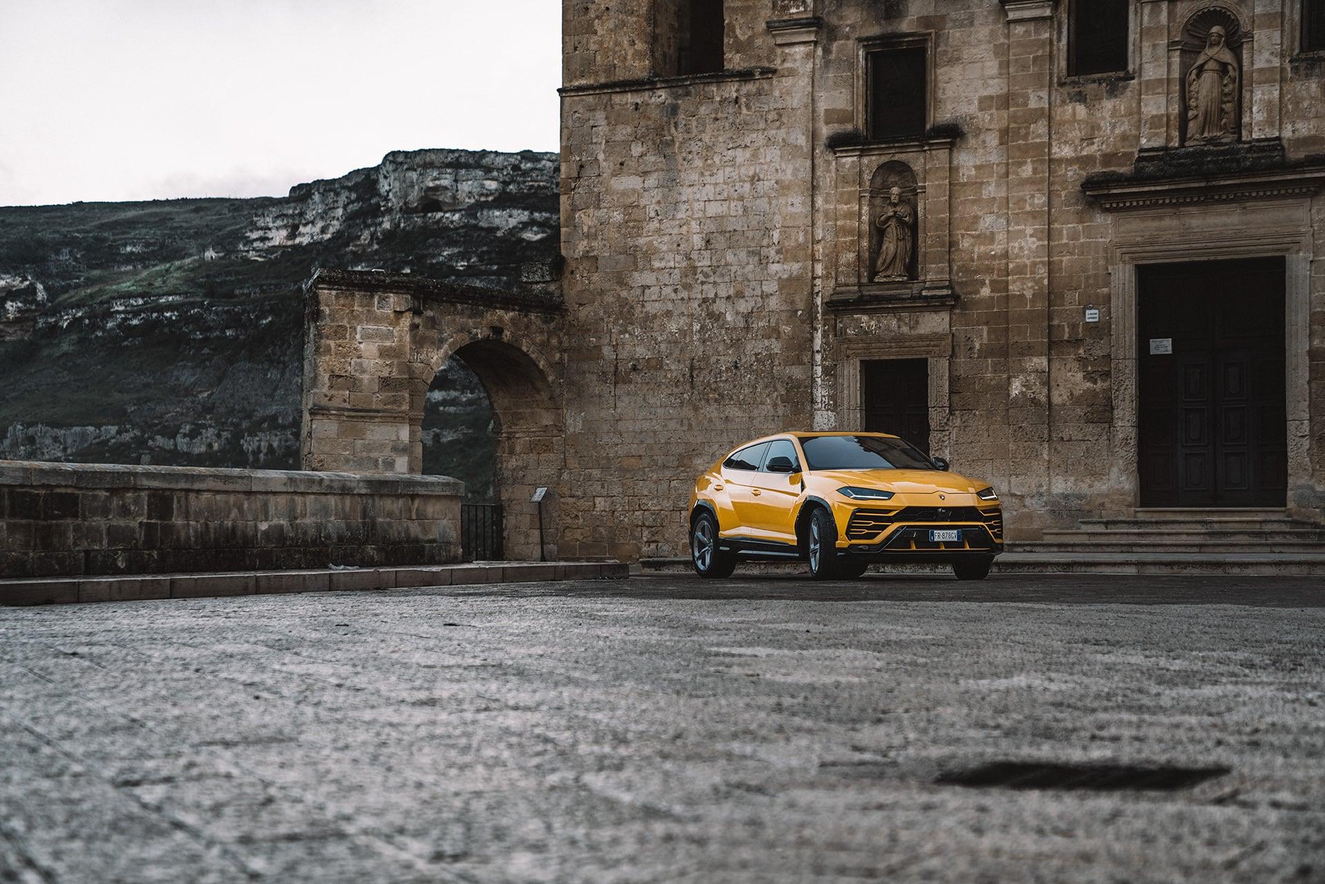 Mit dem Lamborghini Urus durch die wiederentdeckte Stadt Matera 5