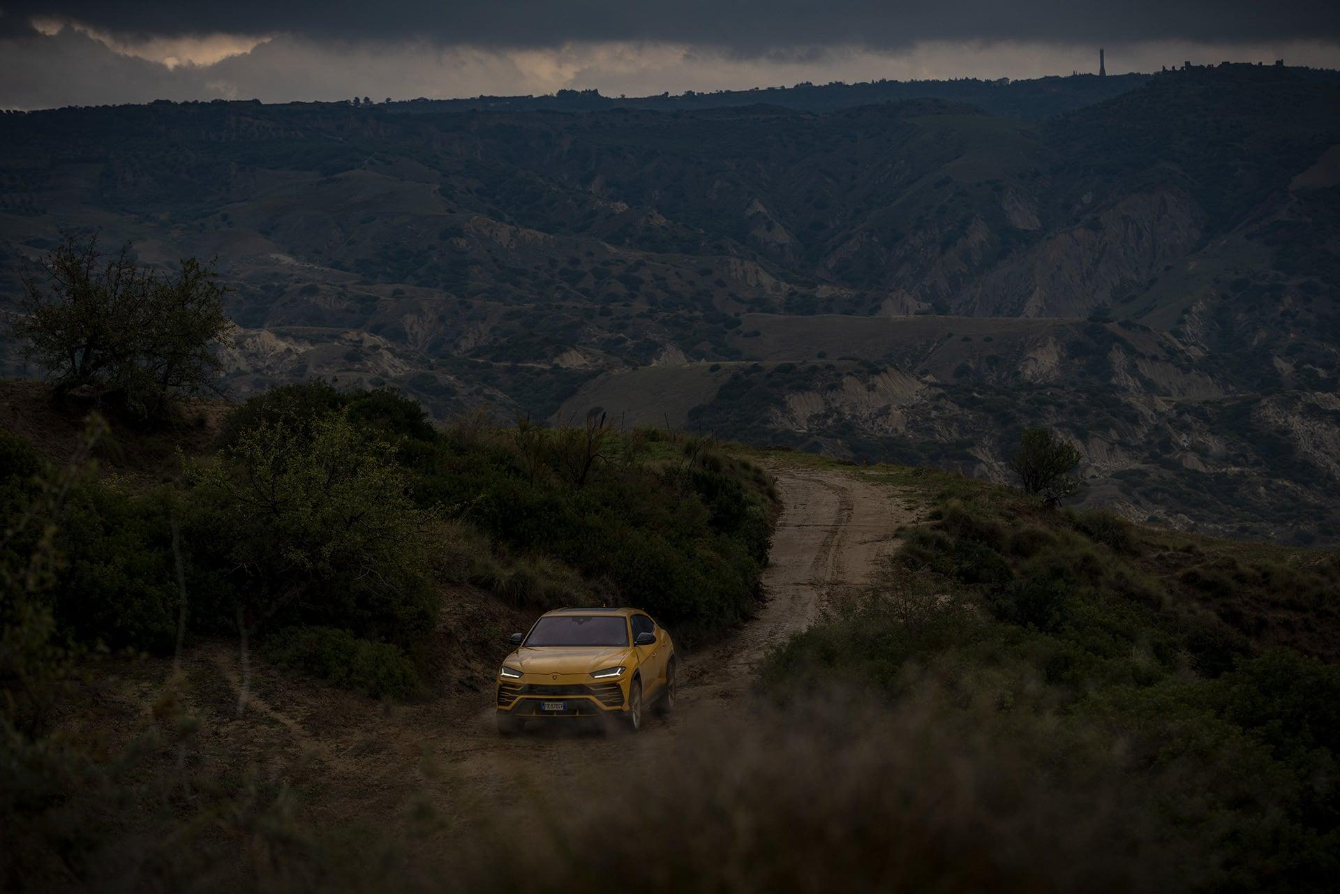 Mit dem Lamborghini Urus durch die wiederentdeckte Stadt Matera 4