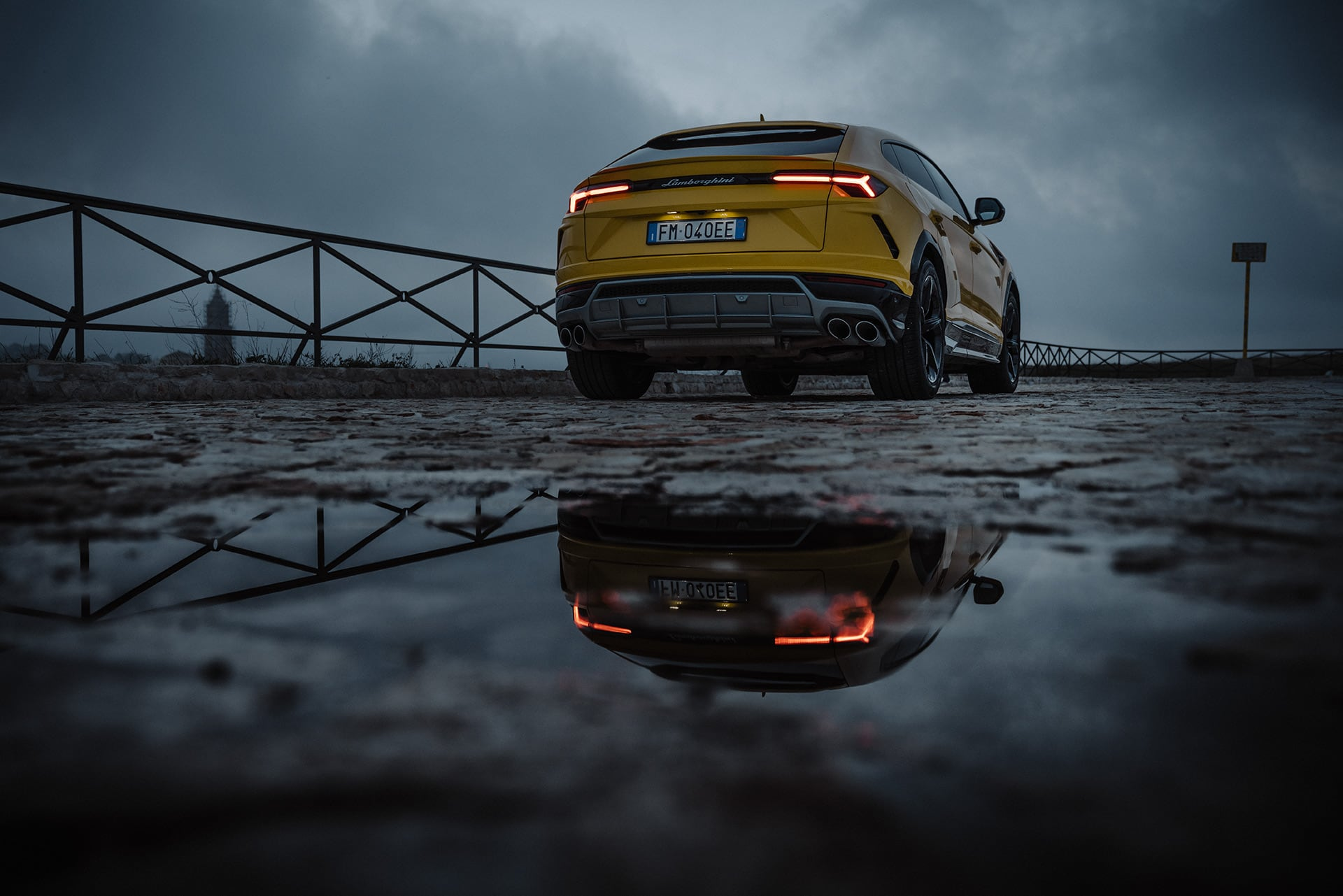 Mit dem Lamborghini Urus durch die wiederentdeckte Stadt Matera 2