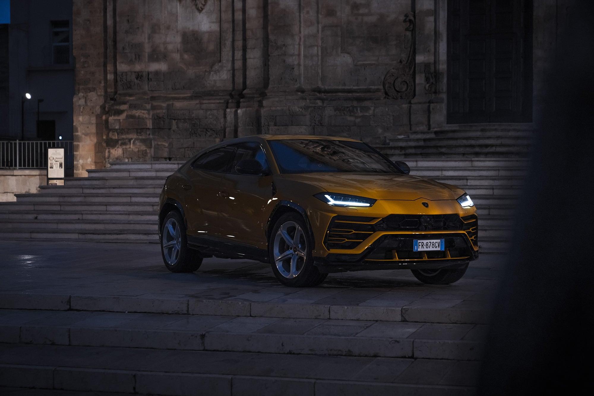 Mit dem Lamborghini Urus durch die wiederentdeckte Stadt Matera 10