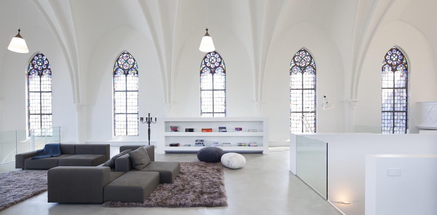 Diese Kirche in den Niederlanden wurde in ein Luxusanwesen umgewandelt 6