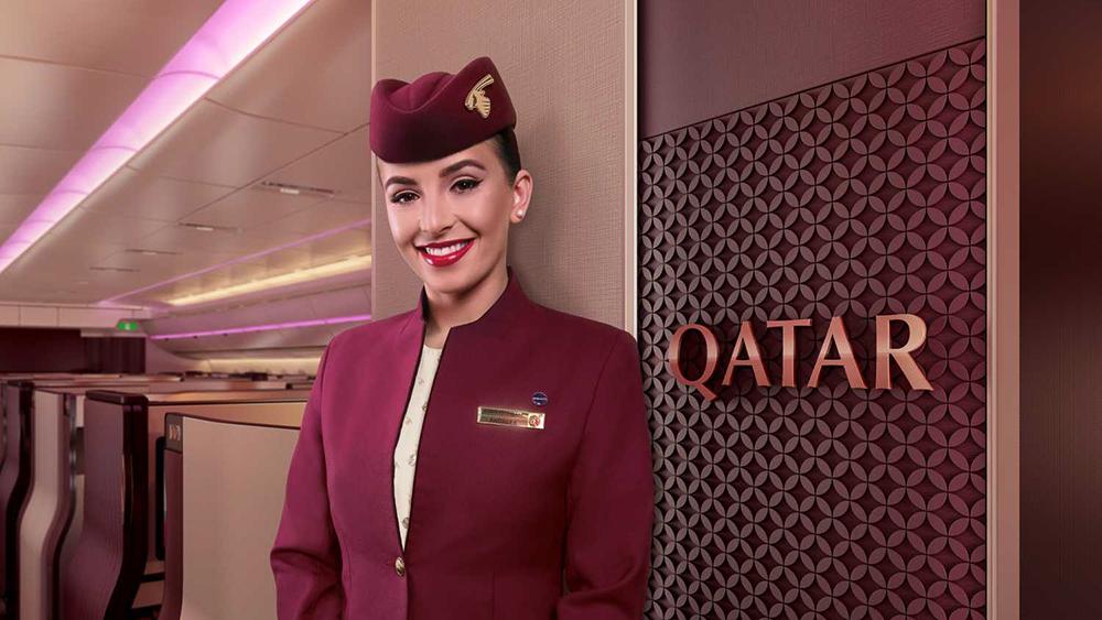 """Die neuen Qatar Airways """"Q-Suites"""" in der Business Class 3"""
