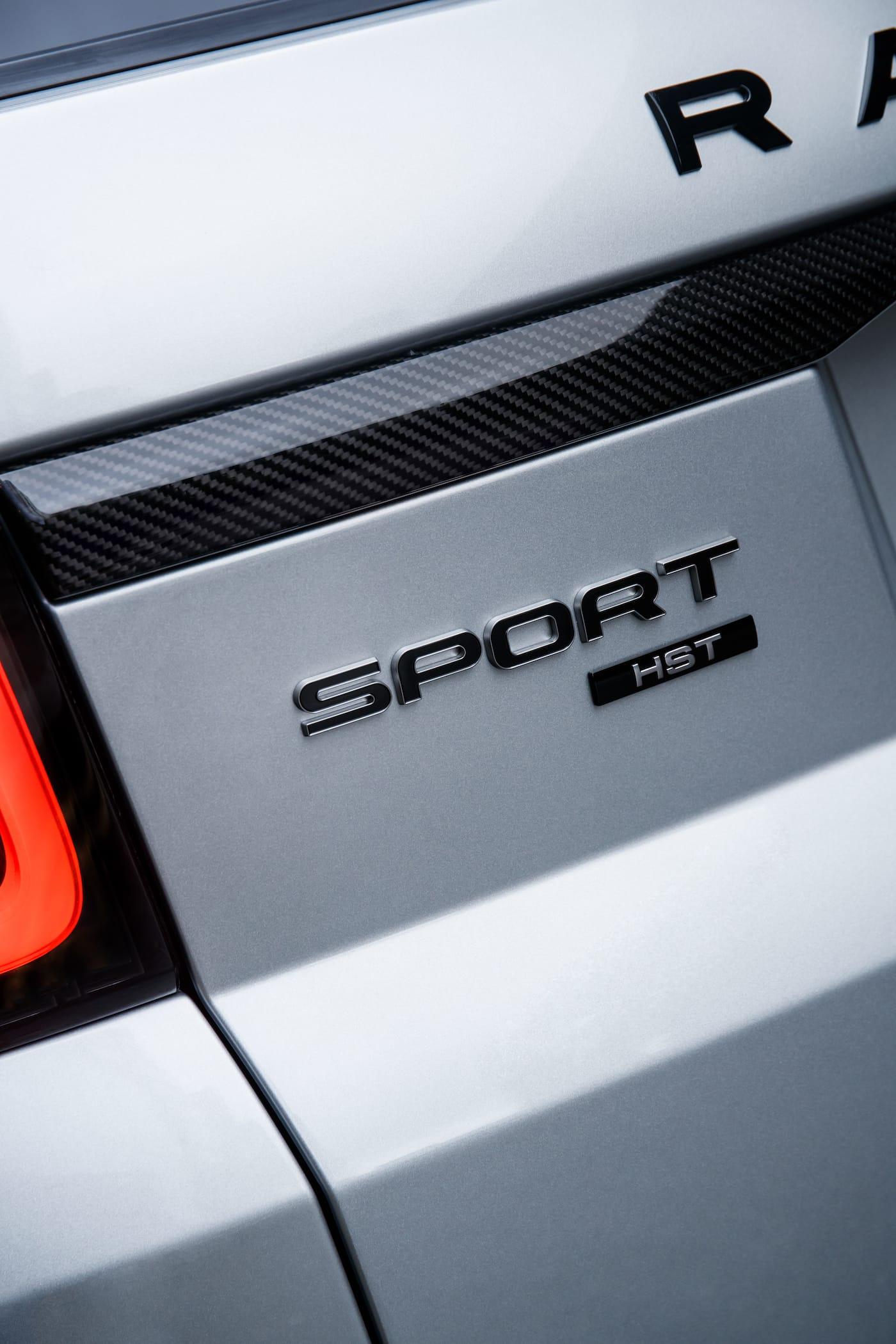Effizienter Luxus: Das Range Rover Sport HST Sondermodell 12