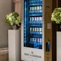 Die Champagner Vending Machine im Ritz Carlton in Florida