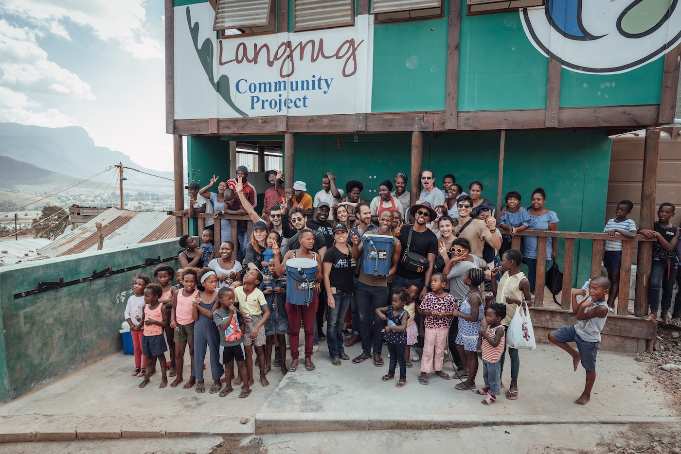 Clean Water for Langrug: How Influencers are Helping Charities to Make a Difference 2