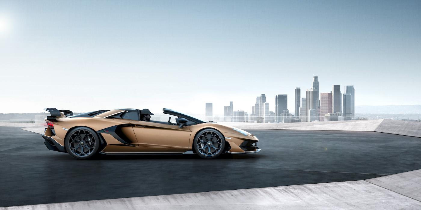 Oben ohne mit 350 km/h: Lamborghini präsentiert den Aventador SVJ Roadster in Genf 2