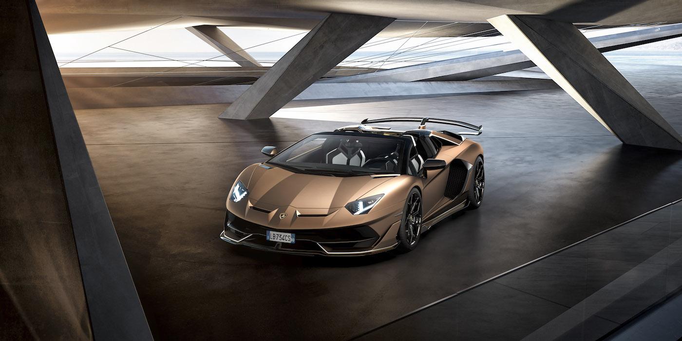 Oben ohne mit 350 km/h: Lamborghini präsentiert den Aventador SVJ Roadster in Genf 3