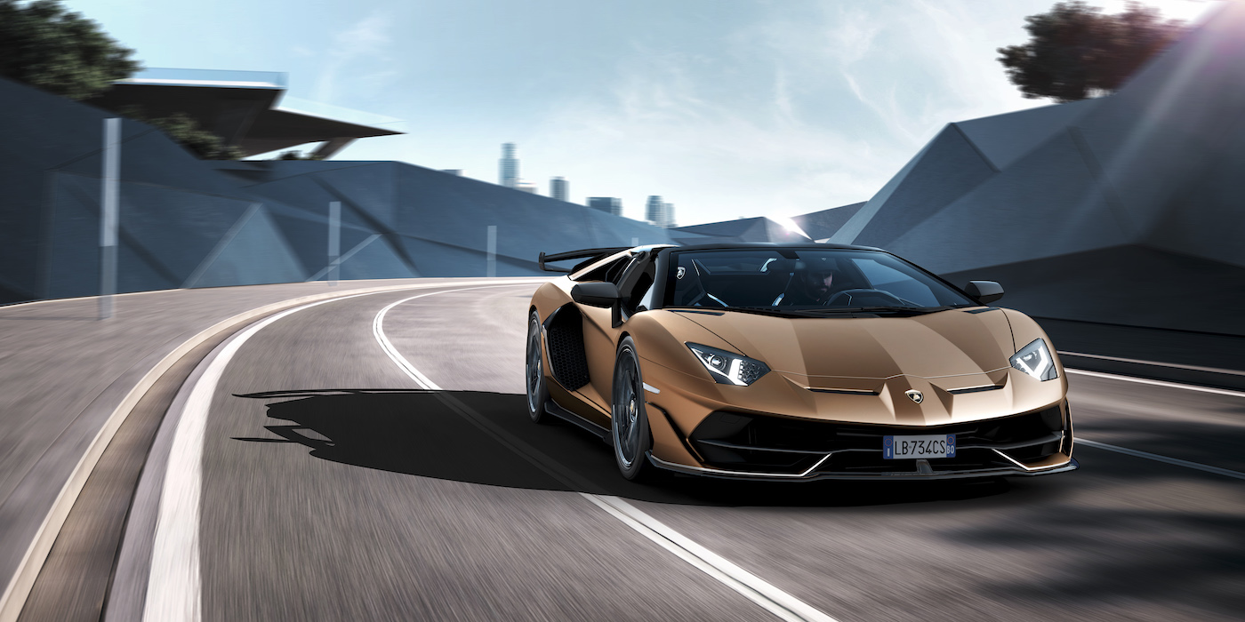 Oben ohne mit 350 km/h: Lamborghini präsentiert den Aventador SVJ Roadster in Genf 1